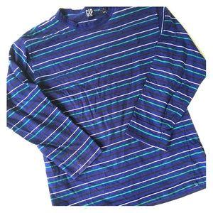 Tops - 5/$25 Gap blue striped long sleeve shirt